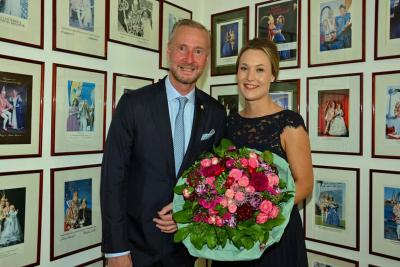 Vorstellung des neuen Prinzenpaars 2019/2020 Alex und Jula