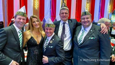 Kürung des neuen Düsseldorfer Prinzenpaares Prinz Axel I. und Venetia Jula