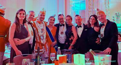 50. Ball International der Prinzengarde der Stadt Düsseldorf im Hilton am 30. November 2019