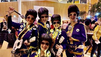 """War das eine phantastische """"Ladies Night"""", unser Wieverkram in der Aula des Comenius Gynasiums am 7. Februar 2020"""