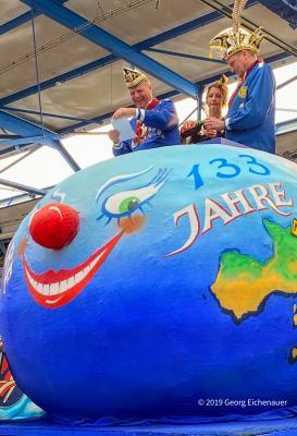 Ein stürmisches Wochenende bahnt sich an: Wettertechnisch und karnevalistisch! Richtfest unseres Karnevalswagen am 8. Februar 2020