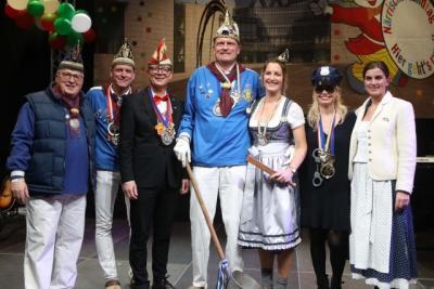 Tollitäten aus Düsseldorf - Niederkassel  beim Närrischen Landtag