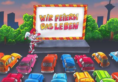 """""""Jeck im Autokino - Wir feiern das Leben"""""""