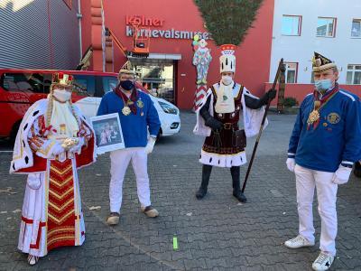 Düsseldorfer Altbier für das Kölner Dreigestirn