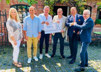 Tonnengarde sammelt 35.000 Euro Spenden für die Hochwasseropfer in Düsseldorf