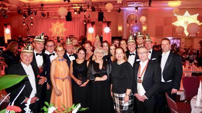 Ball International der Prinzengarde der Stadt Düsseldorf im Hilton am 1. Dezember 2018