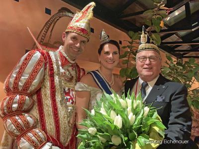 Neujahrsempfang der Tonnengarde im Jubiläumsjahr 2018/2019 im Brauhaus Albrecht